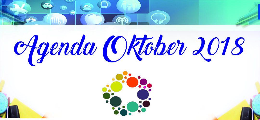 Agenda Kegiatan Bulan Oktober 2018